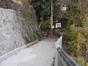 山手地区の坂