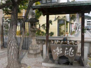 住吉神社 手水舎
