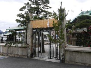 住吉神社 境内前