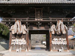 西國寺仁王門