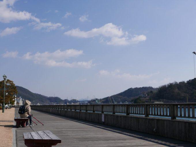 尾道駅前港湾緑地