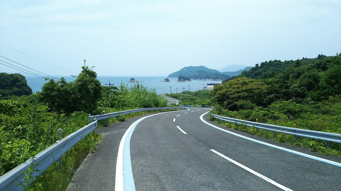大三島外周