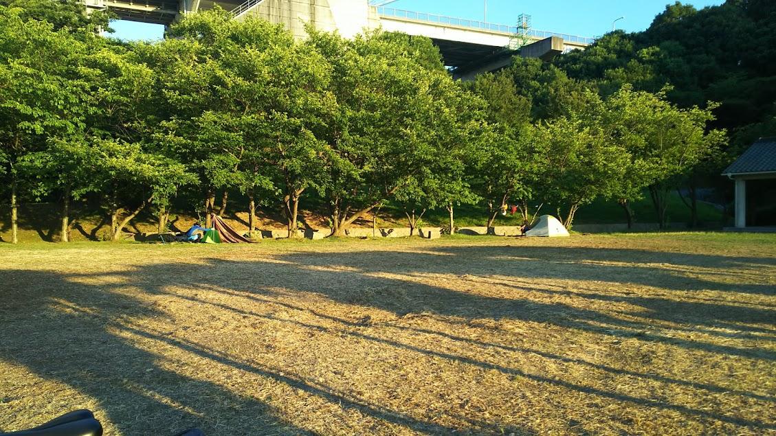 見近島キャンプ