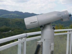 千光寺公園頂上展望台の望遠鏡